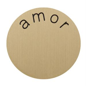 Picture of 'Amor' Large Gold Coin